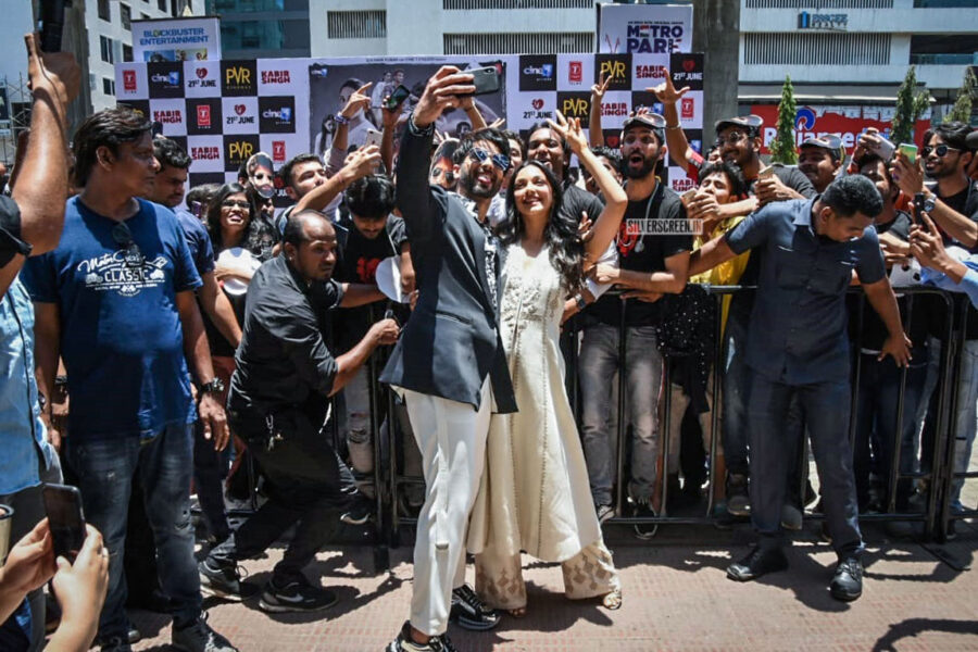 Shahid Kapoor, Kiara Advani At The 'Kabir Singh' Trailer Launch