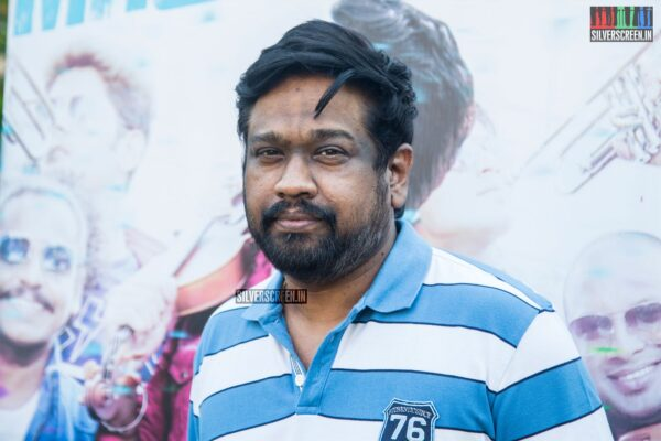 M Rajesh At The 'Mr.Local' Press Meet