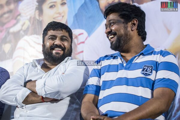 KE Gnanavelraja At The 'Mr.Local' Press Meet
