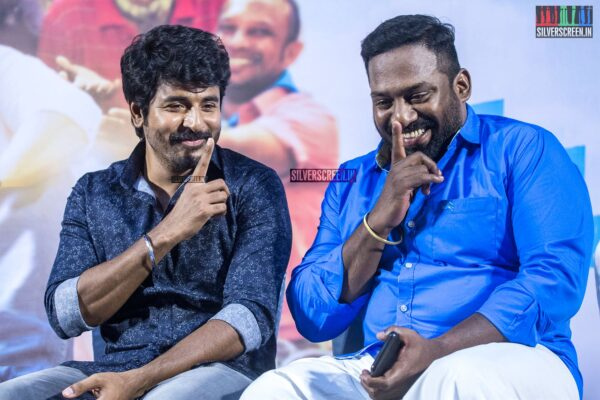 Sivakarthikeyan, Robo Shankar At The 'Mr.Local' Press Meet