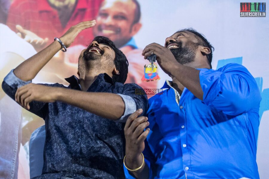 Sivakarthikeyan, Robo Shankar At The 'Mr.Local' Press Meet