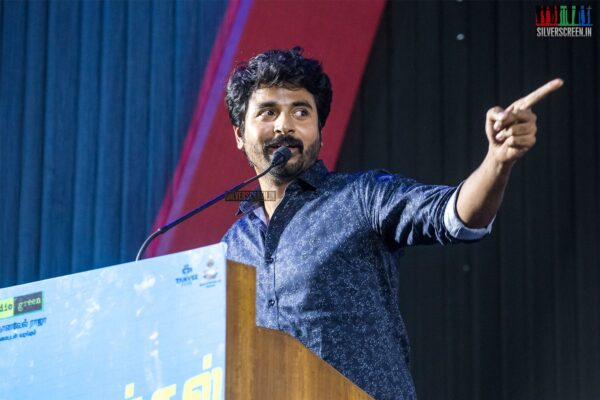 Sivakarthikeyan At The 'Mr.Local' Press Meet