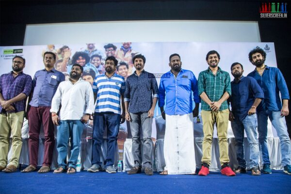 Sivakarthikeyan, Hiphop Tamizha Aadhi At The 'Mr.Local' Press Meet
