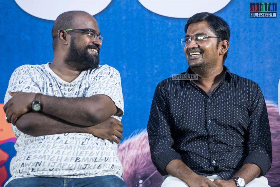 Karunakaran, Nelson At The 'Monster' Success Meet
