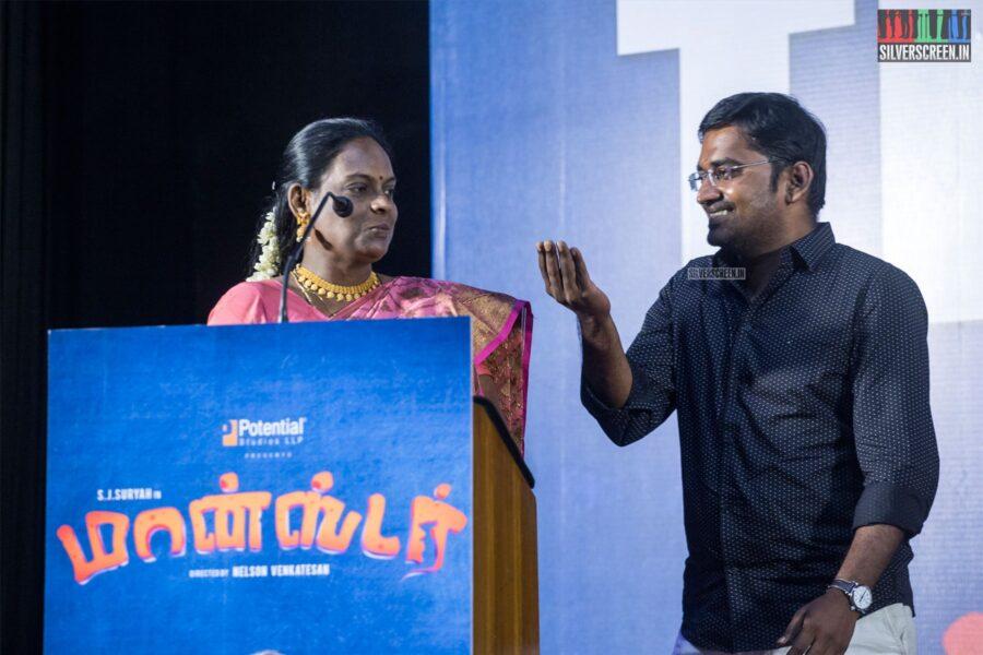 Karunakaran At The 'Monster' Success Meet