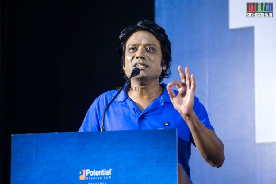 SJ Suryah At The 'Monster' Success Meet