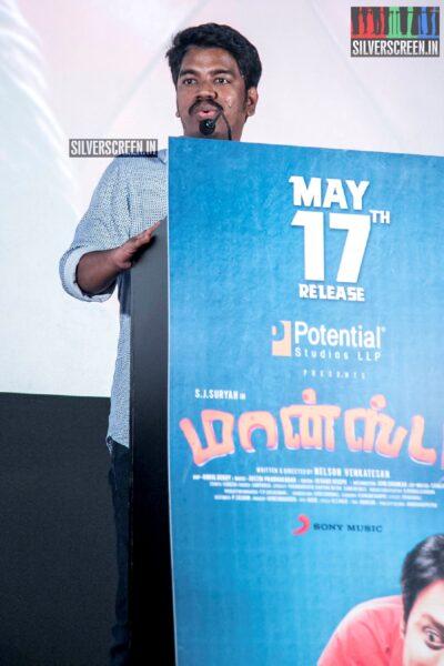 Justin Prabhakaran At The 'Monster' Audio Launch