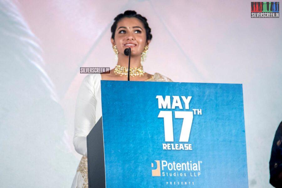 Priya Bhavani Shankar At The 'Monster' Audio Launch