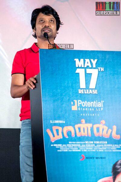 SJ Suryah At The 'Monster' Audio Launch