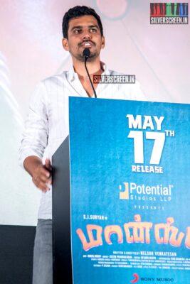 SR Prabhu At The 'Monster' Audio Launch