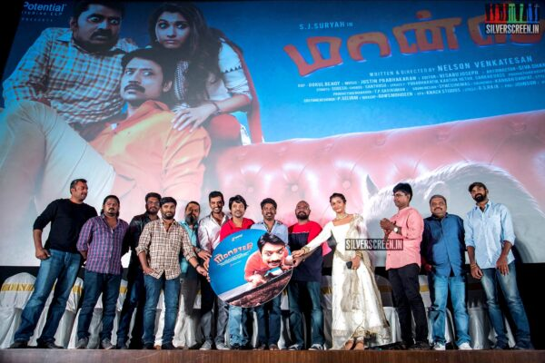 Celebrities At The 'Monster' Audio Launch