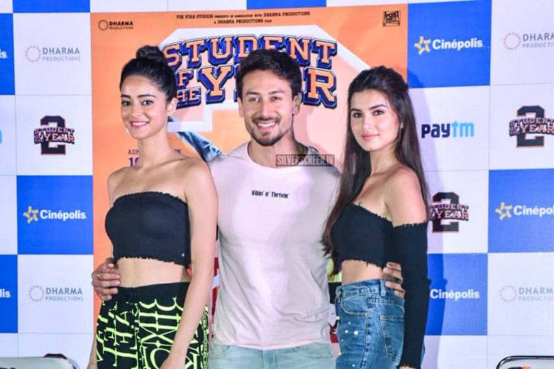 Tara Sutaria, Ananya Panday, Tiger Shroff Promote 'Student Of The Year 2'