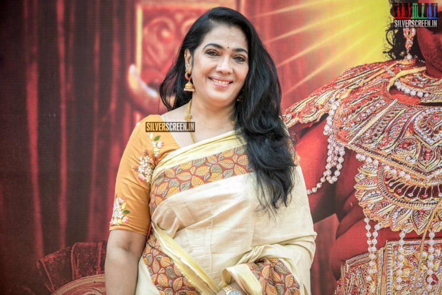Rekha At The 'Dharmaprabhu' Audio Launch