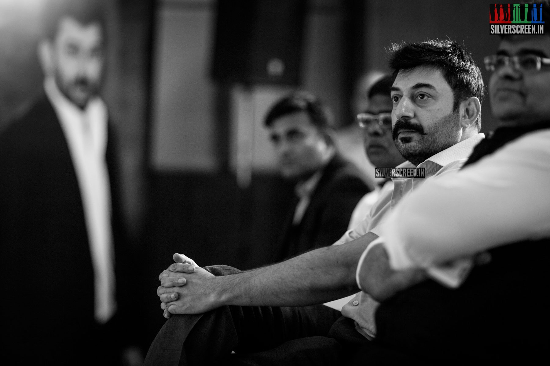 Aravind Swami at 63rd Filmfare Awards 2016 (South) Press Meet