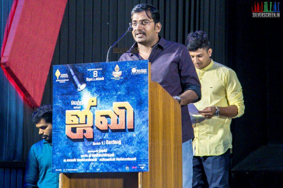 Karunakaran At The 'Jiivi' Press Meet
