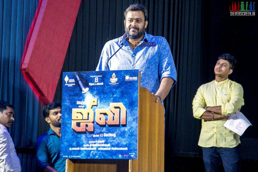 Celebrities At The 'Jiivi' Press Meet