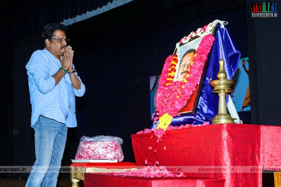 KS Ravikumar Pay Tribute To Crazy Mohan