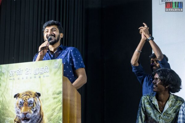 Darshan At The 'Thumbaa' Press Meet