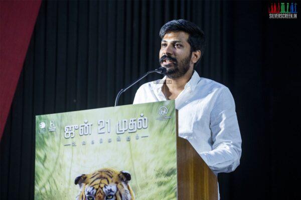 Celebrities At The 'Thumbaa' Press Meet