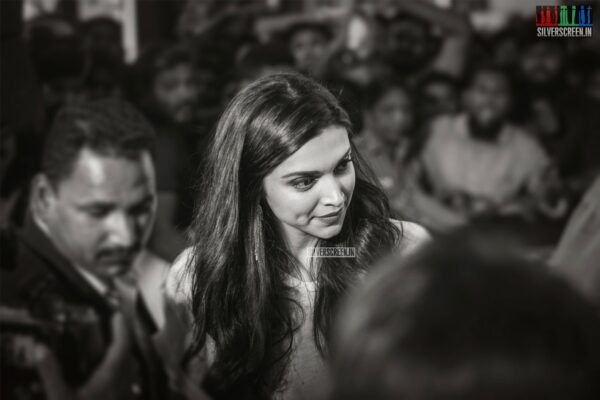 Deepika Padukone In Chennai For An Event To Launch A Boutique For Tissot watches