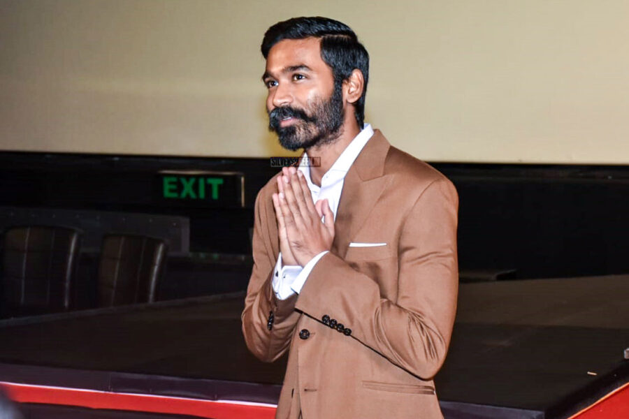 Dhanush At The 'The Extraordinary Journey Of The Fakir' Trailer Launch