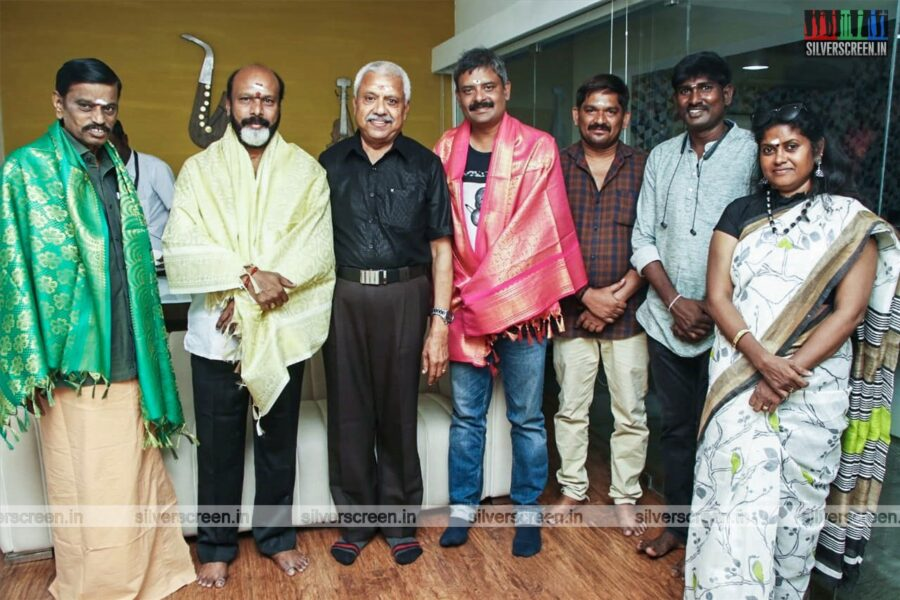 Dubbing For 'Tamizharasan' Starring Vijay Antony Began Today With A Small Ceremony