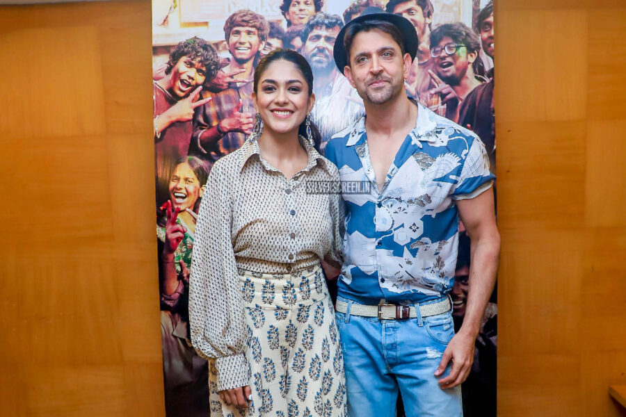 Hrithik Roshan, Mrunal Thakur At The 'Super 30' Audio Launch