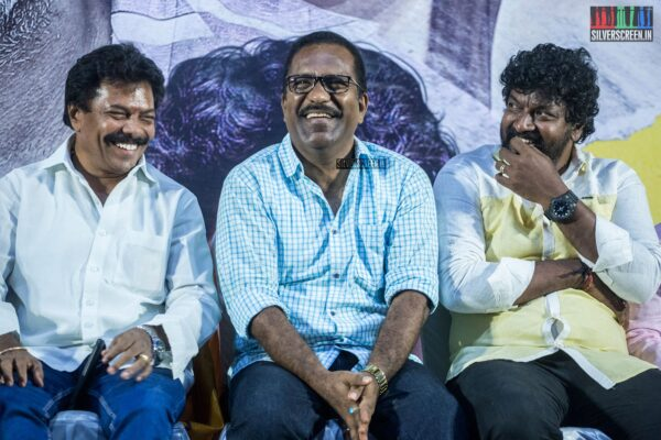 Jaguar Thangam, Charlie, Mime Gopi At The 'Pizhai' Audio Launch
