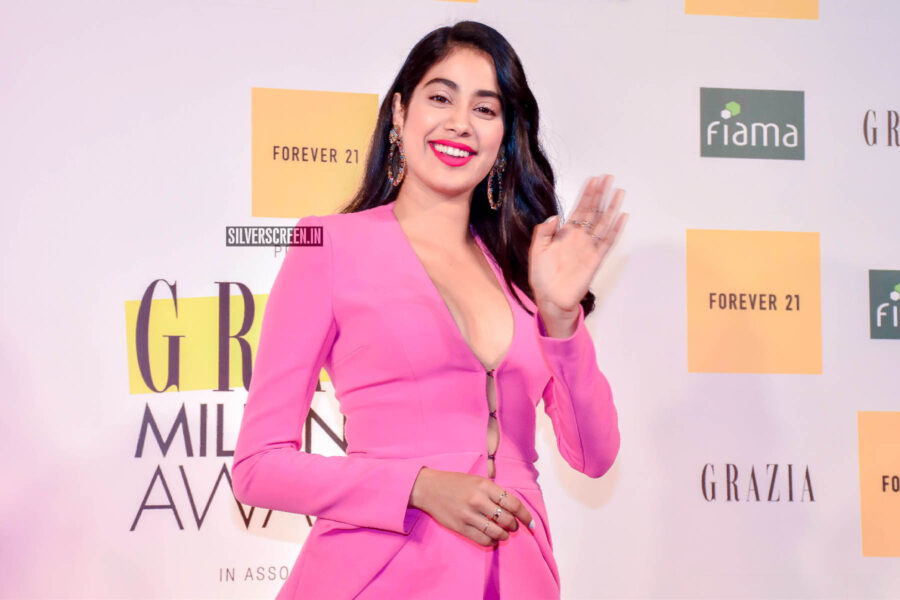 Janhvi Kapoor At The Grazia Millenial Awards