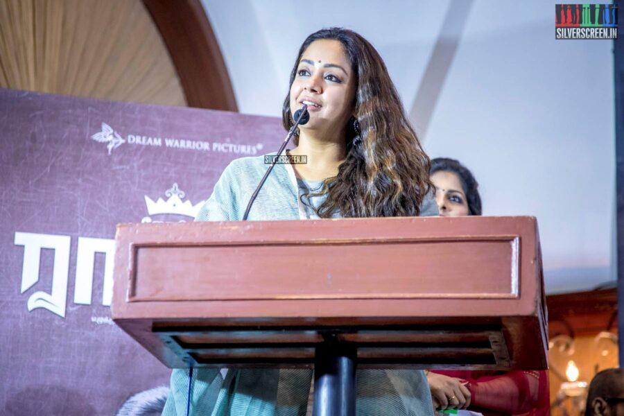 Jyothika At The 'Raatchasi' Press Meet