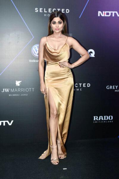 Shamita Shetty At The 'GQ 100 Best Dressed Awards 2019'