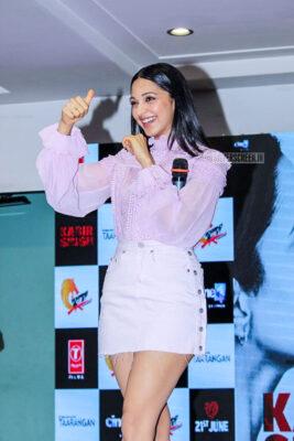 Kiara Advani At The Mere Sohneya Song Launch From Kabir Singh