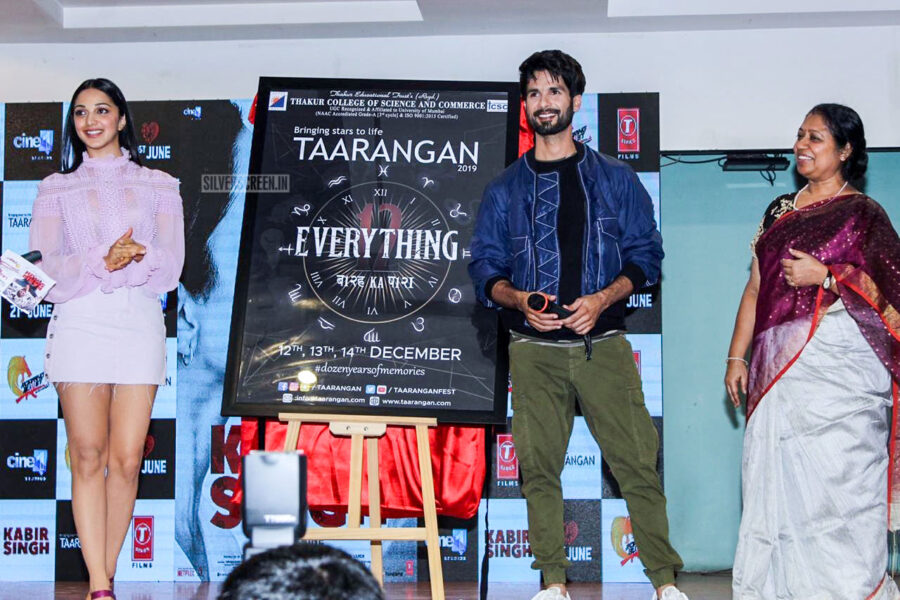Kiara Advani And Shahid Kapoor At The Mere Sohneya Song Launch From Kabir Singh