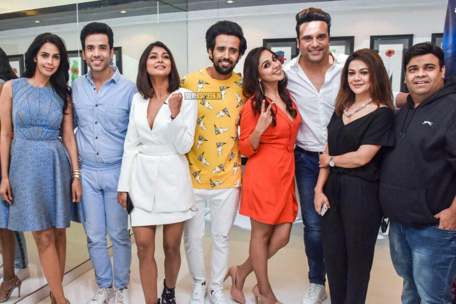Mallika Sherwat, Sakshi Pradhan Promote 'Boo Sabki Phategi'