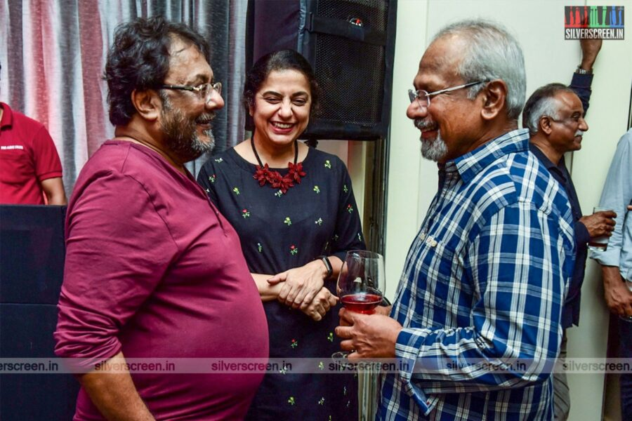 Mani Ratnam And Suhasini At The Launch Of A Lifestyle And Wellness Studio