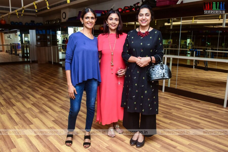 Suhasini Mani Ratnam At The Launch Of A Lifestyle And Wellness Studio