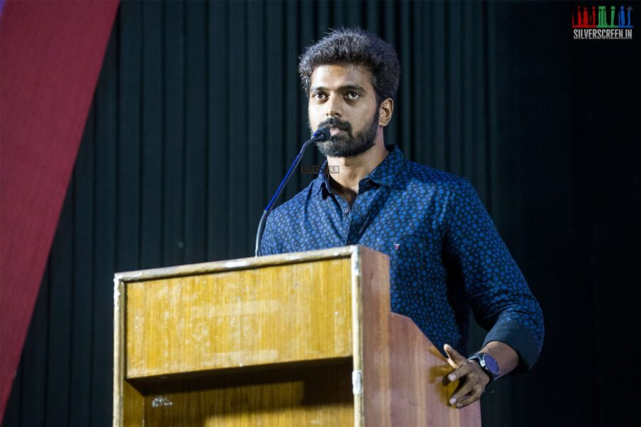 Vikranth At The 'Suttu Pidikka Utharavu' Press Meet