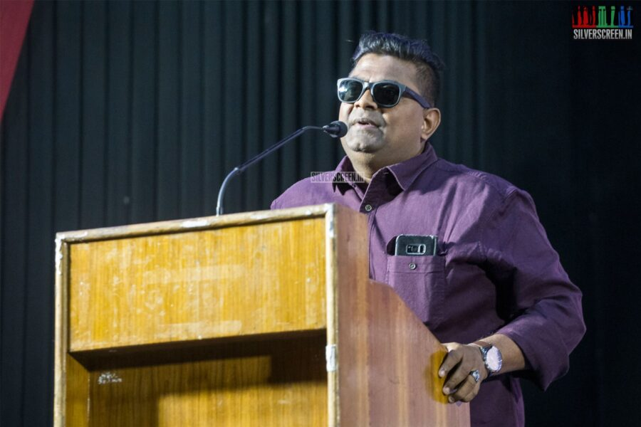Mysskin At The 'Suttu Pidikka Utharavu' Press Meet