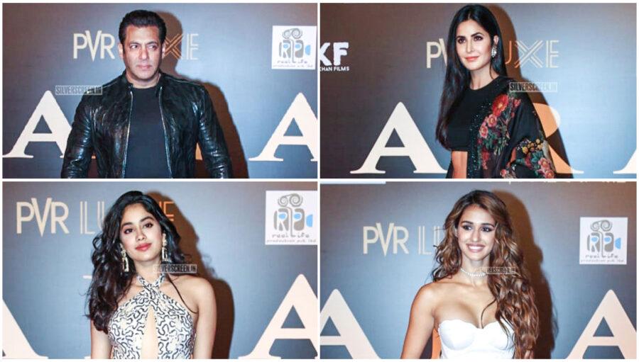 Salman Khan, Katrina Kaif, Disha Patani At The 'Bharat' Premiere