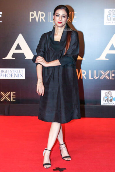 Tabu At The 'Bharat' Premiere
