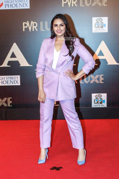 Huma Qureshi At The 'Bharat' Premiere