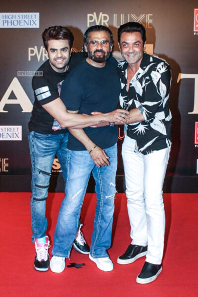 Suniel Shetty At The 'Bharat' Premiere