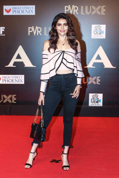 Karishma Tanna At The 'Bharat' Premiere