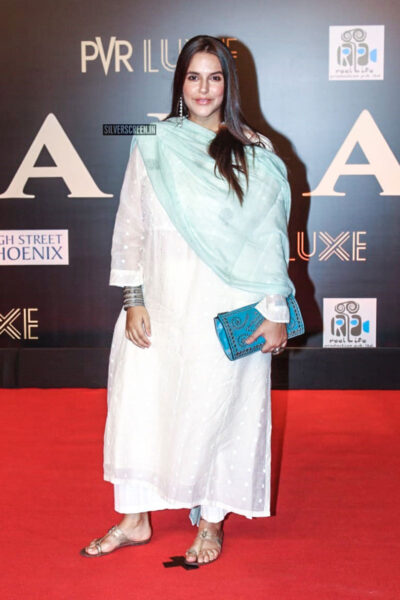 Neha Dhupia At The 'Bharat' Premiere