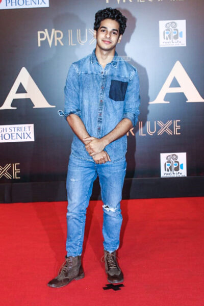 Ishaan Khatter At The 'Bharat' Premiere