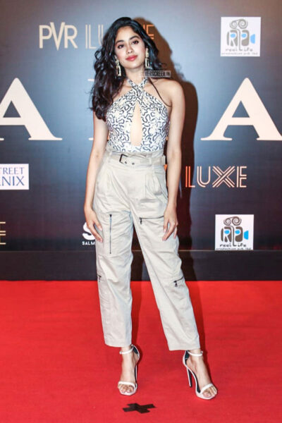 Janhvi Kapoor At The 'Bharat' Premiere