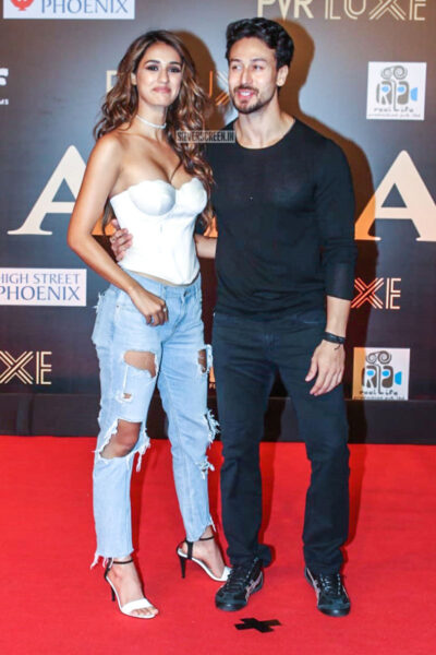 Disha Patani, Tiger Shroff At The 'Bharat' Premiere