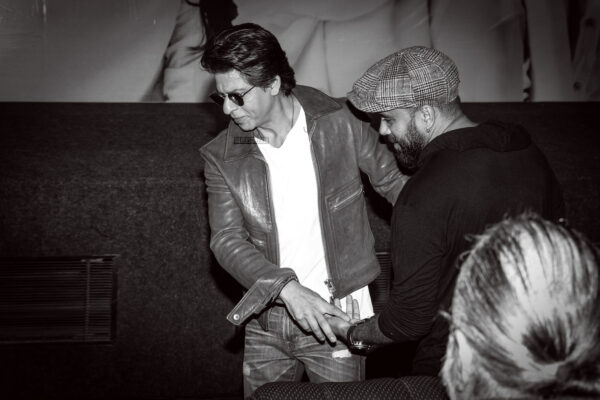Shah Rukh Khan At The 'Smile Please' Trailer & Audio Launch