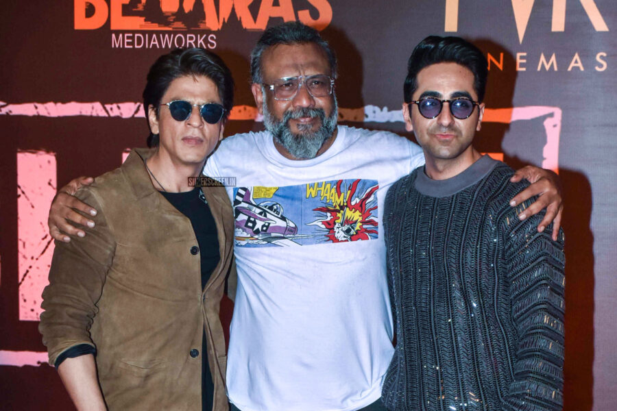 Ayushmann Khurran, Shah Rukh Khan At The 'Article 15' Premiere