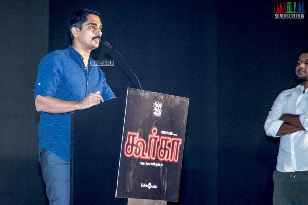 Siddharth At The 'Gurkha' Audio Launch